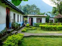 Lodges In Khudi, Besisahar (Nepal) Stock Photography