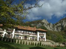 Lodgings of the monastery in Serbia Lipovac Stock Photography