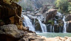 Lodh eller Burhaghat vattenfall i Jharkhand royaltyfri fotografi