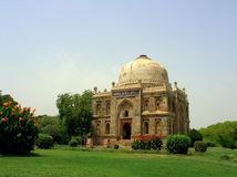 Lodhi Garden Delhi I. Tomb in Lodhi Gardens in New Delhi India Royalty Free Stock Images