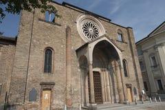 Lodi意大利:圣弗朗切斯科教会 库存图片