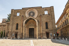Lodi - Church of San Francesco Royalty Free Stock Image