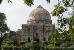 Lodi Gardens, New Delhi. One of the Mughal  tombs in a park called Lodhi Gardens in New Delhi Royalty Free Stock Photography
