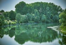 Lodi Italien: der Adda-Fluss Stockfotos