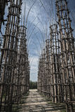 Lodi Lombardy, Italy: the vegetal cathedral Royalty Free Stock Image