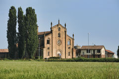 Lodivecchio Lodi, Ιταλία: εκκλησία του SAN Bassiano στοκ φωτογραφία με δικαίωμα ελεύθερης χρήσης
