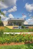 Lodlinje av gallerian för fyrkant en i Mississauga, Kanada arkivfoton