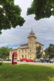 Lodlinje av stadshuset i Simcoe, Ontario, Kanada royaltyfria foton