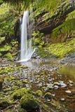 Lodlinje för fält för Tasmanien vattenfallMt Arkivbild