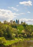 Lodlinje för ortodox kyrka Fotografering för Bildbyråer