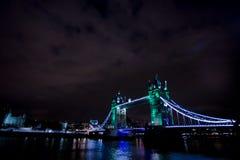 Lodnon de pont de tour Images stock