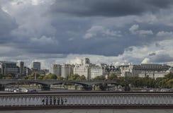 Lodnon - la vista del fiume Fotografia Stock Libera da Diritti