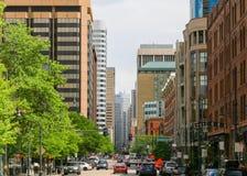 LoDo-Bezirk von Denver Stockbilder