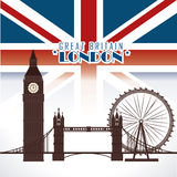 Lodon ndesign Royalty Free Stock Photo