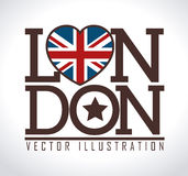Lodon ndesign Royalty Free Stock Photo