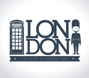 Lodon ndesign Royalty Free Stock Photography