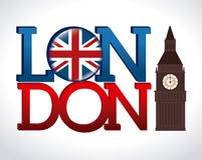 Lodon ndesign Royalty Free Stock Image