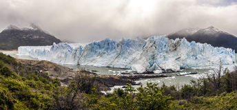 lodowa argentina perito Moreno Obrazy Stock