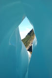 lodowa błękitny lód Obraz Stock