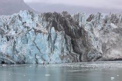 Lodowa bród blisko obejście wysp Alaska obrazy royalty free