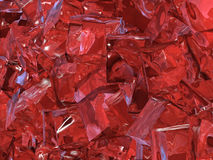 lodowa czerwień Zdjęcie Stock