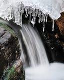 lodowa działająca siklawa obrazy royalty free