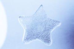 lodowa gwiazda Obraz Royalty Free