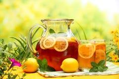 Lodowa Herbata Obrazy Stock