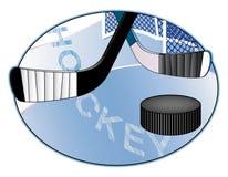 lodowa hokej ilustracja Zdjęcia Stock