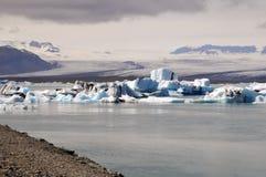 Lodowa i lodu laguna w Iceland Obraz Stock
