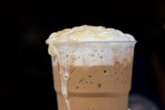 Lodowa kawa Zdjęcia Royalty Free