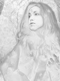 lodowa królowa Fotografia Stock