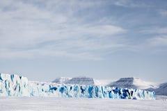 lodowa krajobraz Obraz Royalty Free