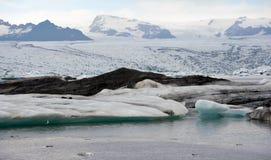lodowa lodowy jokulsarlon jezioro Obrazy Stock