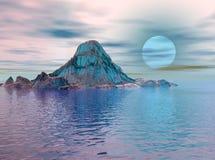 lodowa magii Zdjęcie Royalty Free