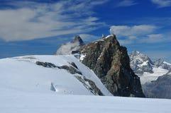 lodowa Matterhorn raj zdjęcie royalty free