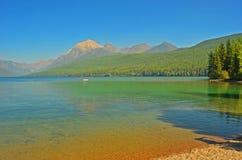 lodowa Montana park narodowy usa fotografia stock