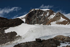lodowa monte Rosa Obraz Royalty Free