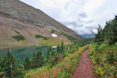 Lodowa park narodowy w Montana obraz royalty free