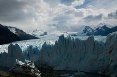 lodowa perito Moreno zdjęcie stock
