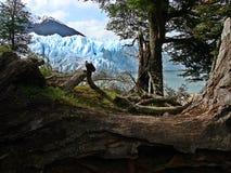 lodowa perito Moreno obraz royalty free
