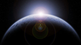 Lodowa planeta Obrazy Royalty Free