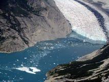 lodowa podpalany park narodowy Fotografia Royalty Free