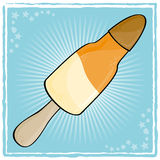 lodowa rakiety wody Zdjęcie Stock