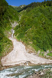 lodowa rzeka Obraz Royalty Free