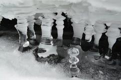 lodowa stała woda Obrazy Royalty Free