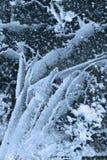 lodowa tekstura Zdjęcia Royalty Free