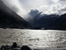 Lodowa widoku jeziorna góra lodowa Obrazy Royalty Free