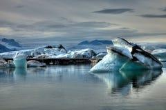 lodowa ziemia Zdjęcia Stock