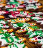 Lodowaceń ciastka Zdjęcie Stock